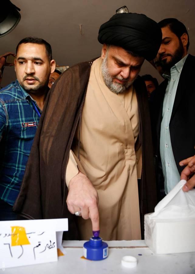 الانتخابات العراقية، قانون الانتخاب العراقي، الثورة العراقية، مقتدى الصدر