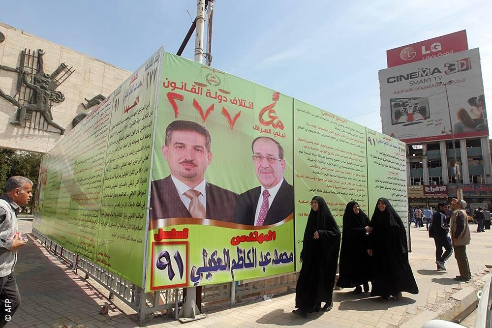 الانتخابات العراقية، قانون الانتخاب العراقي، الثورة العراقية، الطائفية، التنافس بين المرشحين