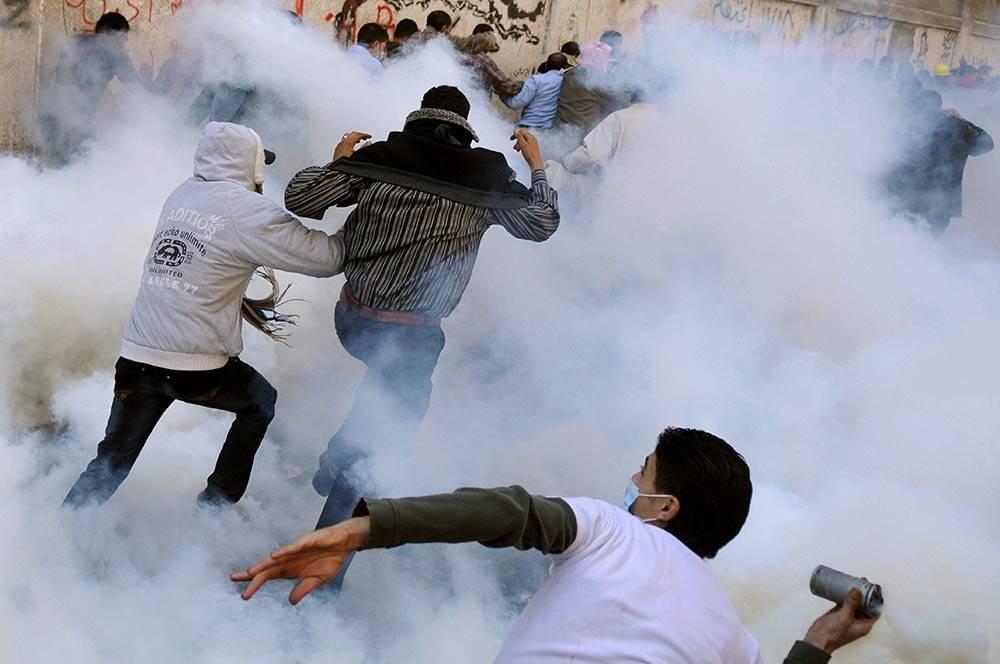 اشتباكات، ثورة 25 يناير