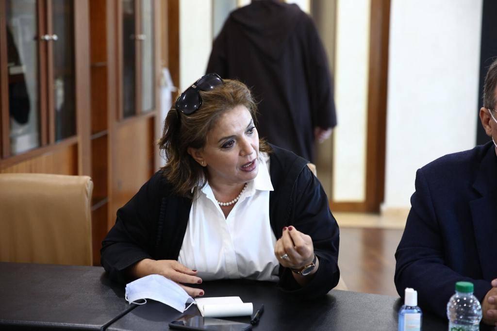 """خديجة روكي إحدى عضوات ائتلاف """"المناصفة دابا"""""""