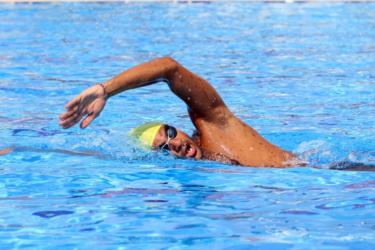 السباح المصري سيّد الباروكي