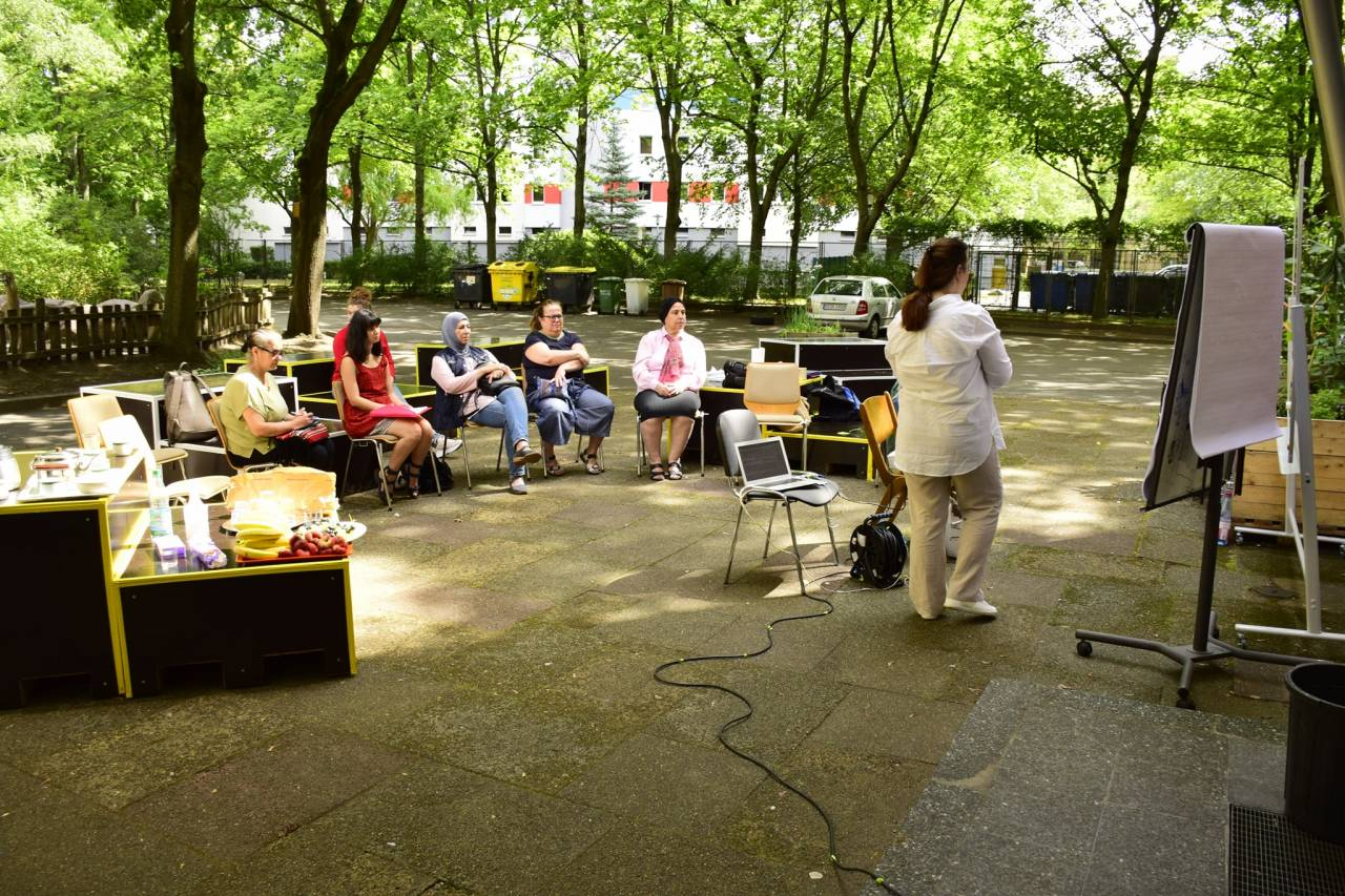 الورشات التي تجمع النساء المغتربات في برلين