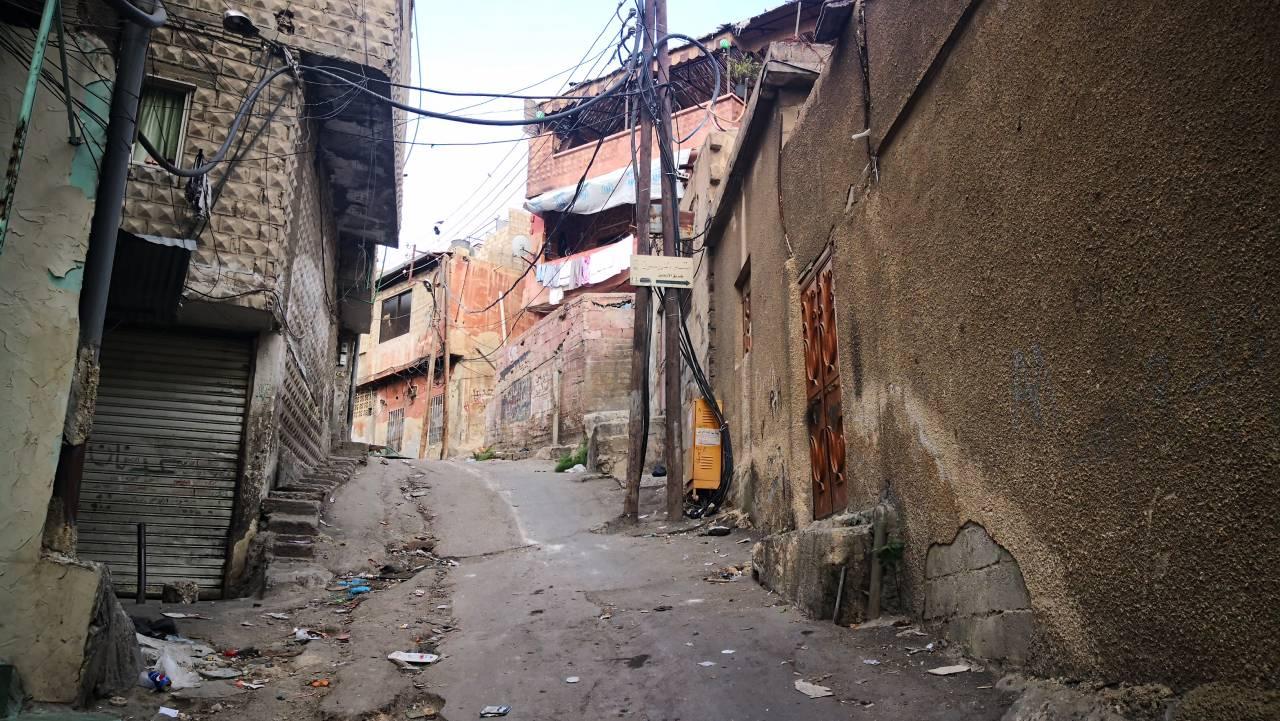 إحدى حارات حي ركن الدين