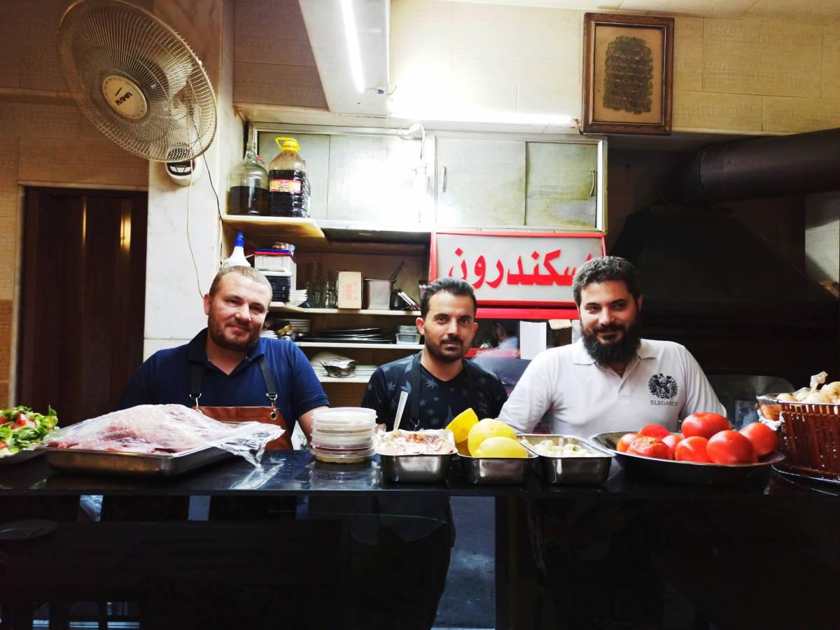 مطعم اسكندرون في دمشق